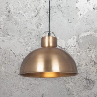 Industrial Dome Pendant Light
