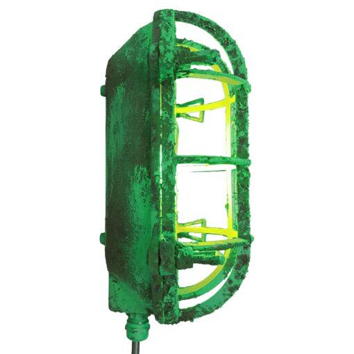ndustrial Green Oval Bulkhead