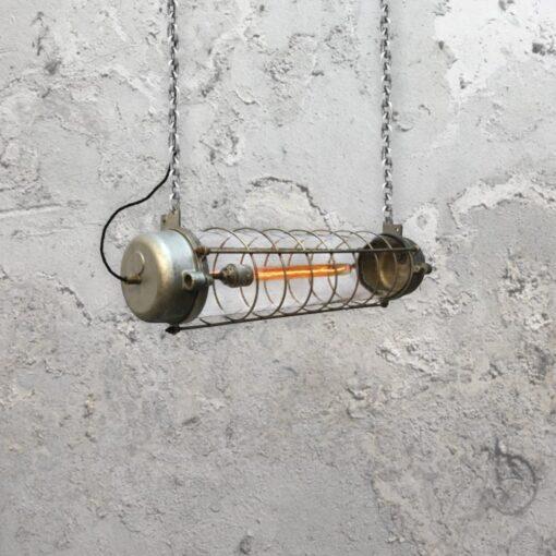 Industrial Linear Tube Pendant Light