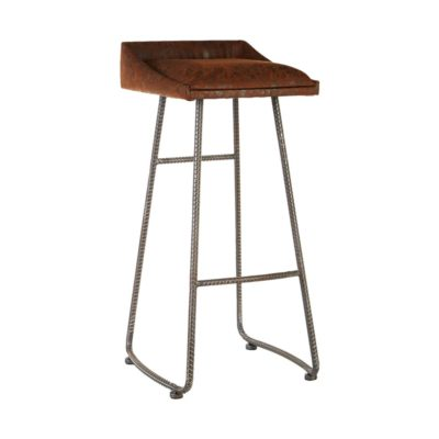 Industrial Rebar Bar Stool