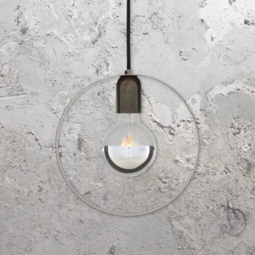 Industrial Ring Pendant Light