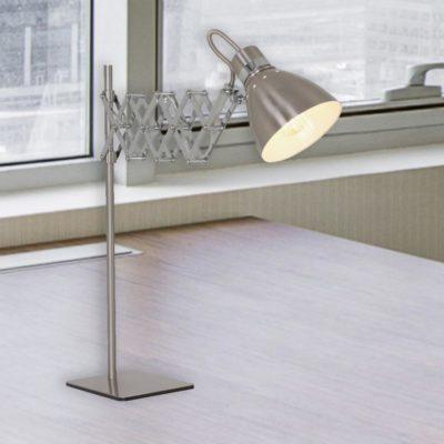 Industrial Scissor Table Lamp