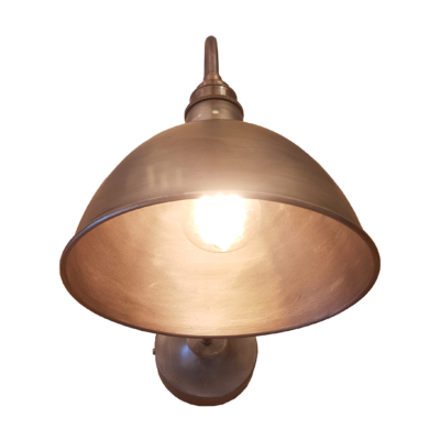 Industrial Swan Neck Wall Light