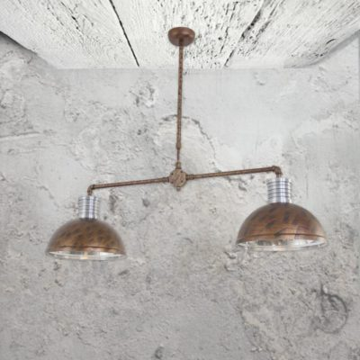 Industrial Twin Pendant Ceiling
