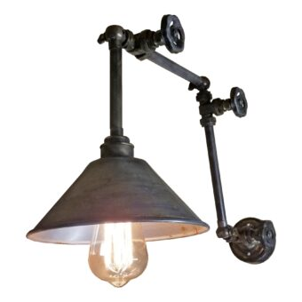 Industrial Valve Wall Light