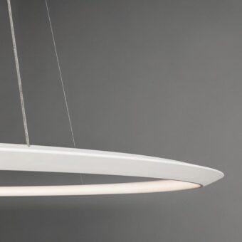 Inwards LED Ring Pendant Light Output
