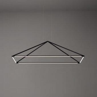 LED Suspended Pyramid Pendant