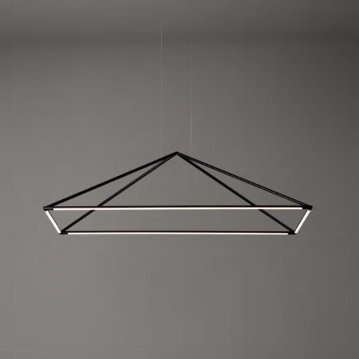 LED Suspended Pyramid Pendant