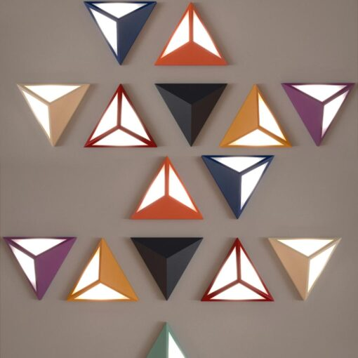 LED Triangle Wall Light,ArchitecturalTriangular Wall Mounted Fitting