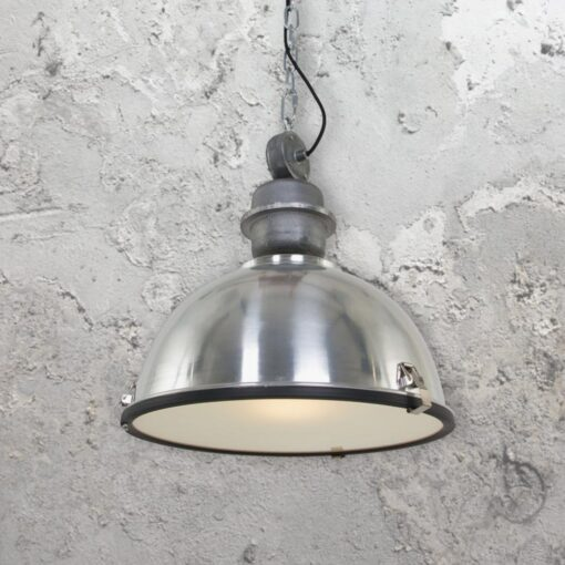 Large Vintage Industrial Pendant Light