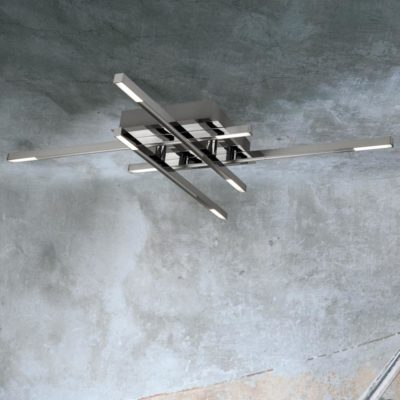 Linear 8 Light LED Flush