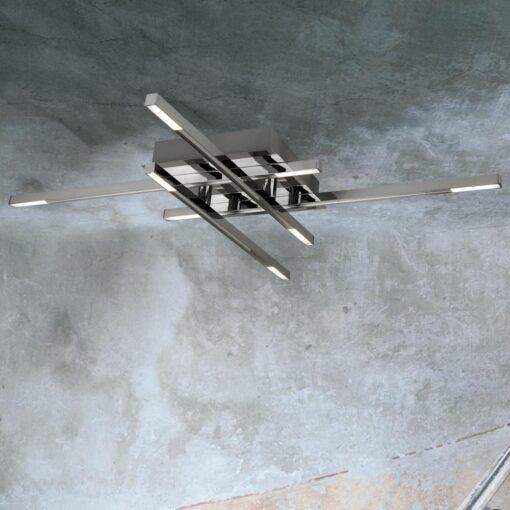Linear 8 Light LED Flush