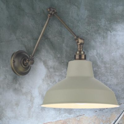 Long Triple Jointed Wall Light