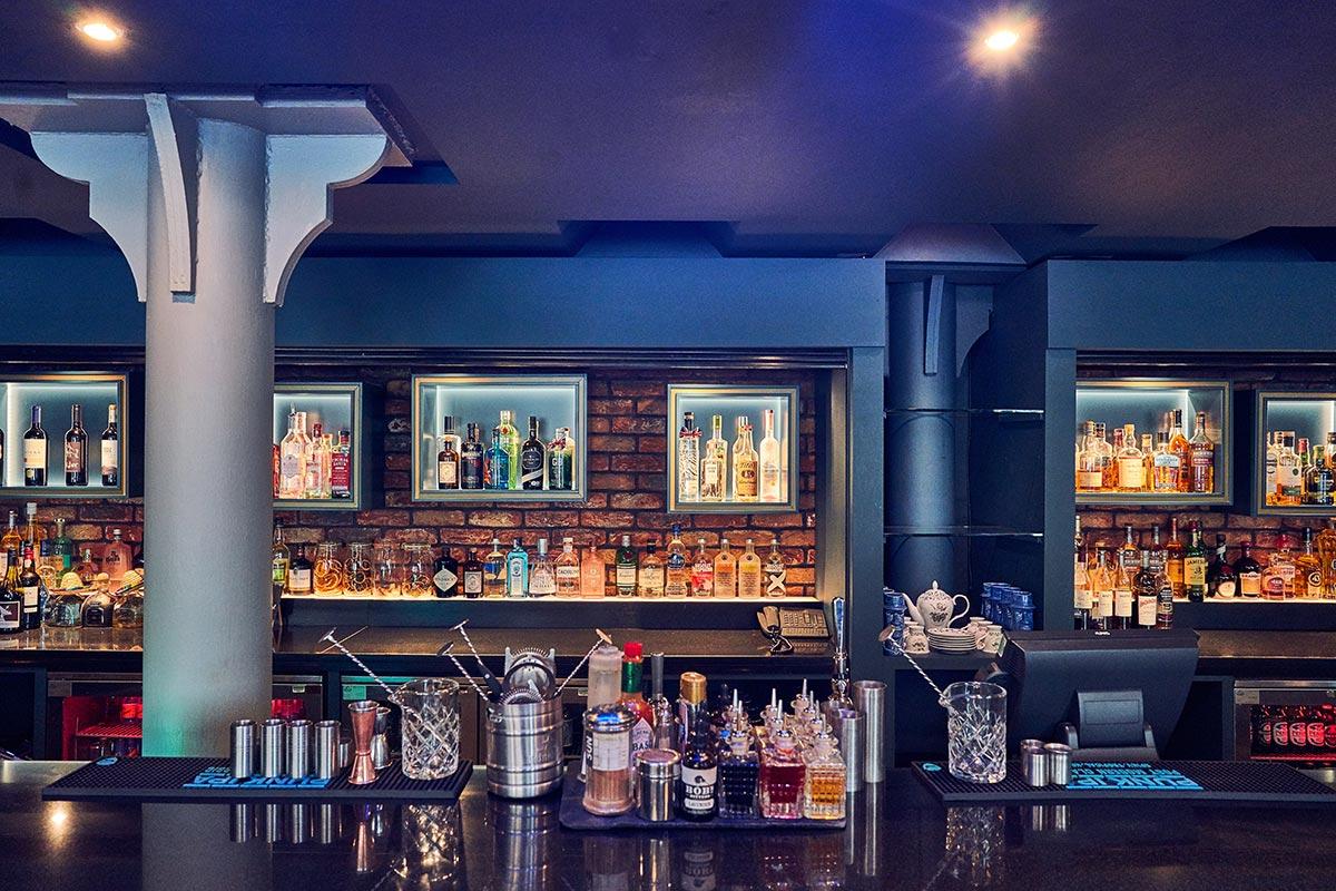 Malmaison Chez Mal Bar, Belfast Decor
