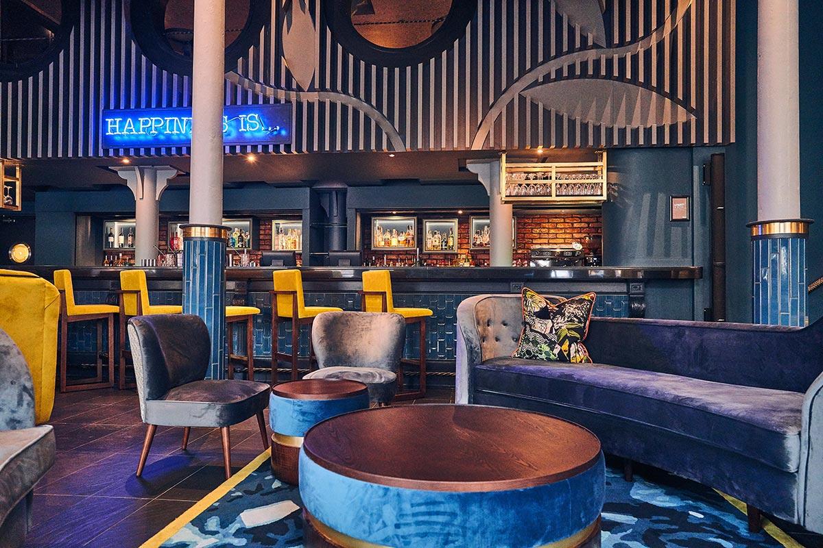 Malmaison Chez Mal Bar, Belfast Lights