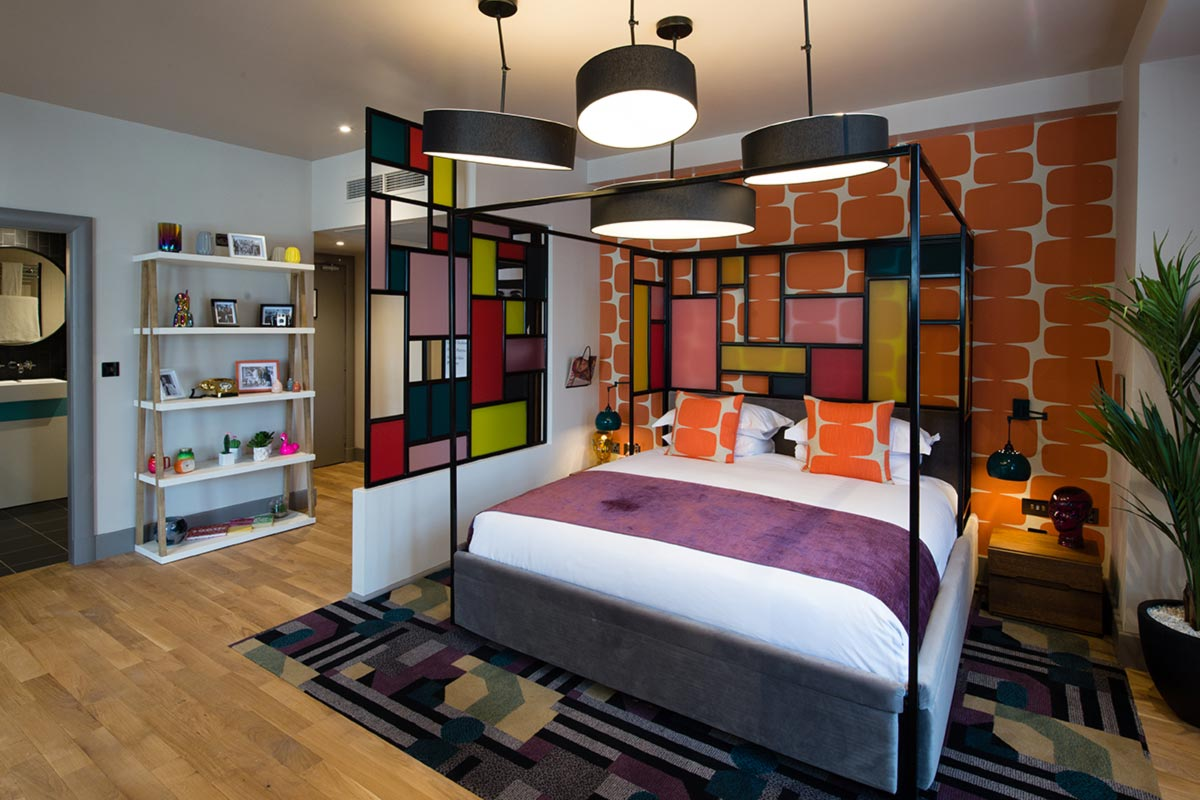 Malmaison Suites, Manchester Swinging Vogue Hotel Lighting