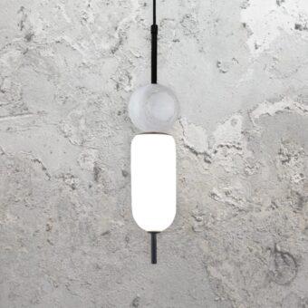 Marble Glass Pendant Light