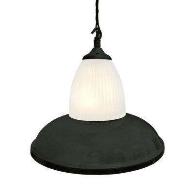 Matt Black Glass Pendant Light,Industrial Traditional Glass Pendant Light