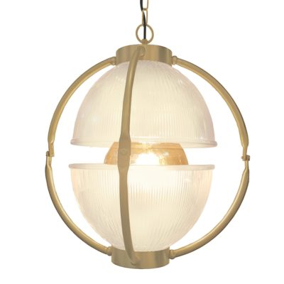Matt Gold Glass Orb Pendant Light,Frosted Glass Orb Pendant Light