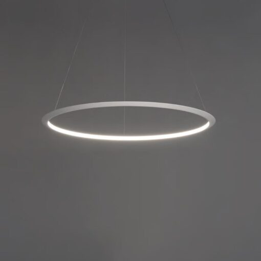 Medium Suspended Inwards LED Ring Pendant