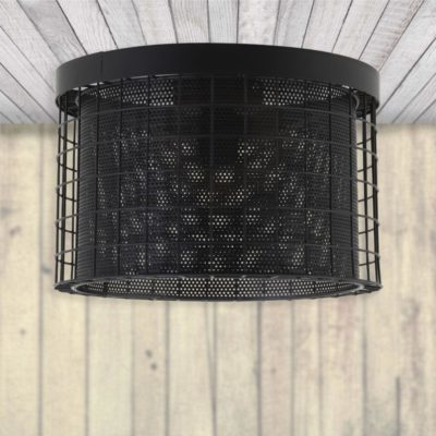 Mesh Flush Ceiling Light