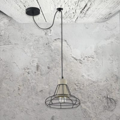 Cage Concrete Pendant Light CL-34802