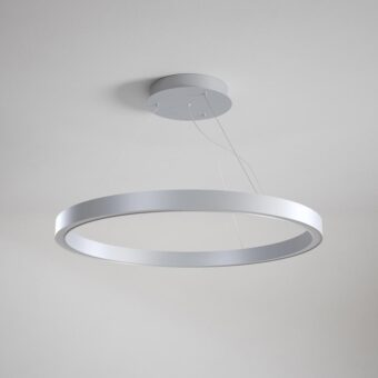 Metal LED Suspended Ring Pendant