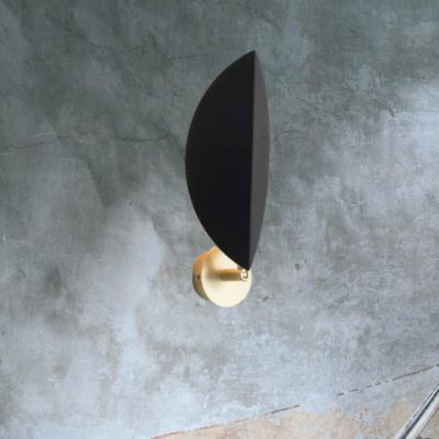 Metal Leaf Wall Light