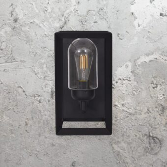Metal Modern Black Outdoor Wall Light