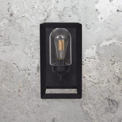 Metal Modern Black Outdoor Wall Light