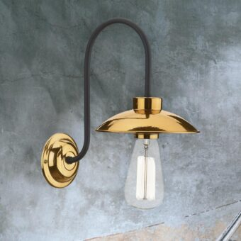 Mini Copper Vintage Wall Light