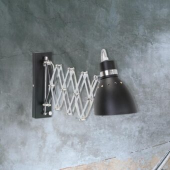 Mini Vintage Scissor Wall Light