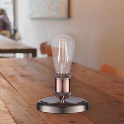 Minimal Vintage Table Lamp