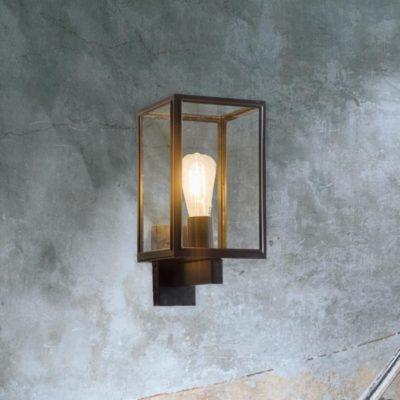 Modern Black Outdoor Wall Light