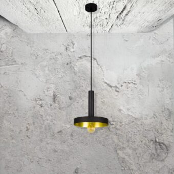 Modern Black Pendant Light
