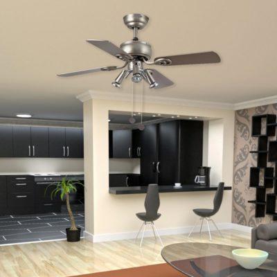 Modern Ceiling Fan With Spotlights