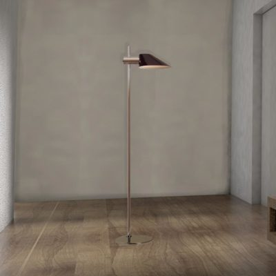 Tall Modern Gold Floor Lamp