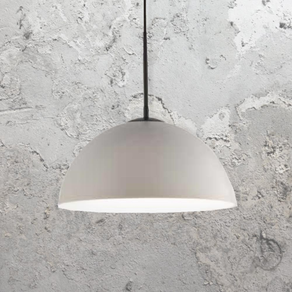 Grey dome pendant light cl 39472