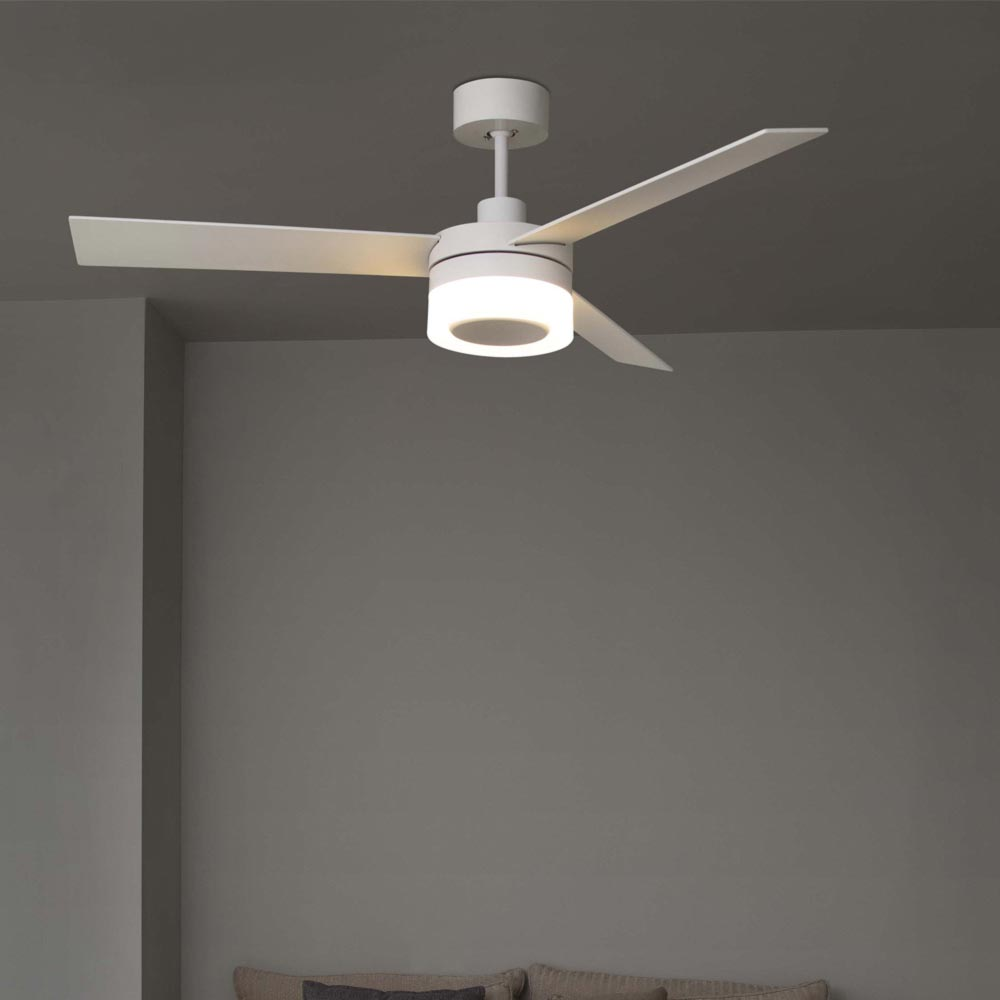 Modern Wood Ceiling Fan With Light Cl 34866 E2 Contract