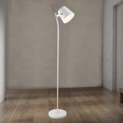 Modern White Floor Lamp