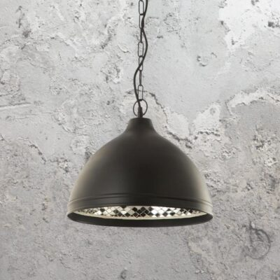 Mosaic Inner Black Pendant Light