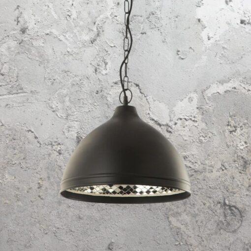 Mosaic Inner Black Pendant Light