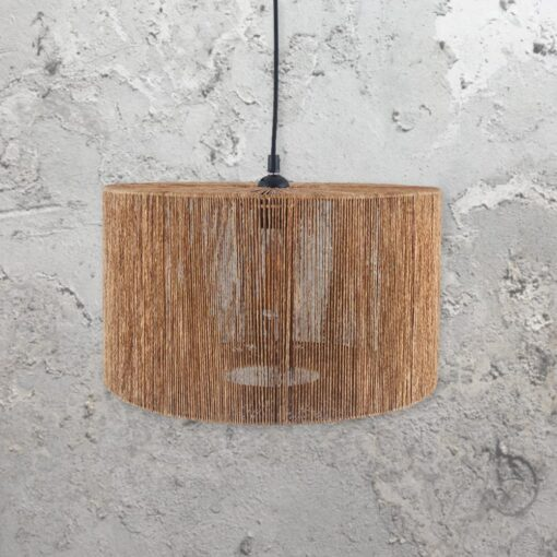 Natural Rope Shade Pendant Light