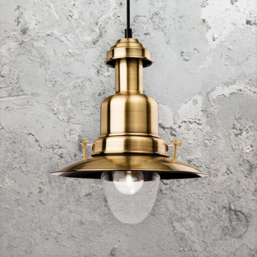 Nautical Fisherman Pendant Light