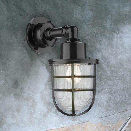 Nautical Rustic Grey Wall Light