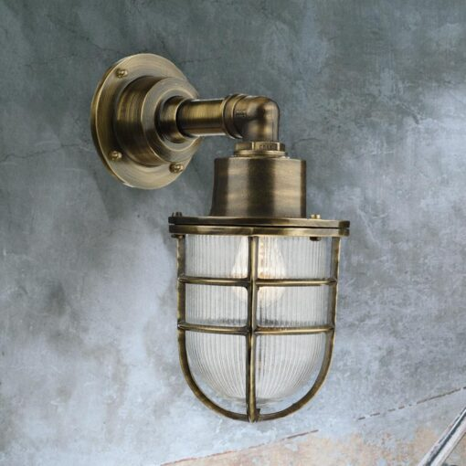Nautical Solid Brass Wall Light