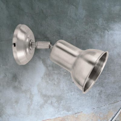 Nickel Solid Brass Spotlight