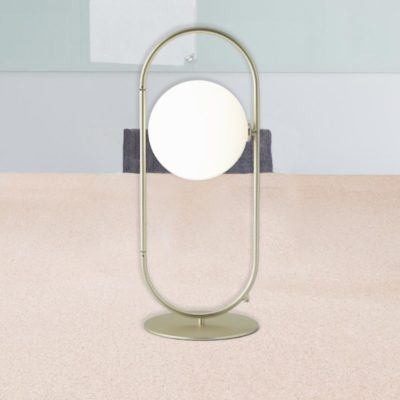Opal Globe Table Lamp
