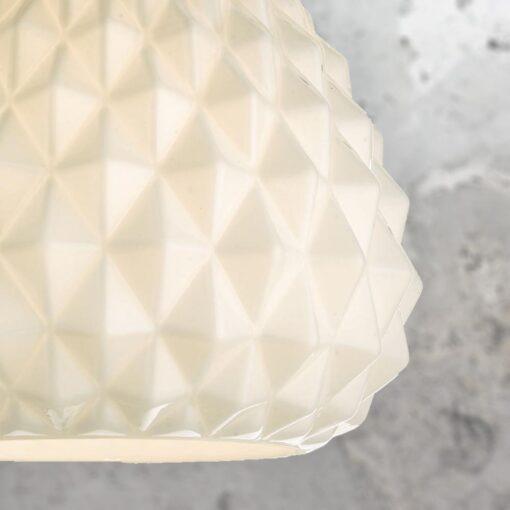 Opal Pineapple Pendant Light