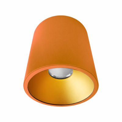 Orange Gold Surface Mounted LED Downlight